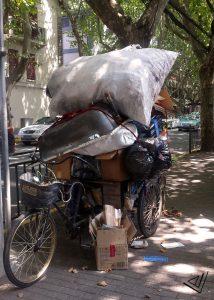 Shanghai Qindaofu tricycle collector